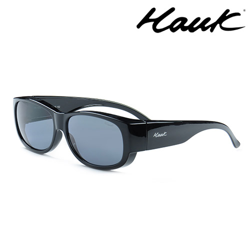 HAWK偏光太陽套鏡(眼鏡族專用)HK1002-01