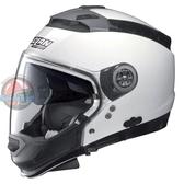 [安信騎士] 義大利 Nolan N44 素色 CLASSIC #5 白 半罩 安全帽 可裝藍芽 內墨片 下巴可拆