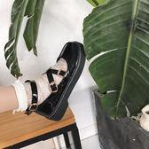 松糕鞋女日系jK制服鞋原宿圓頭小皮鞋厚底軟妹鞋子學院娃娃單鞋女優品匯