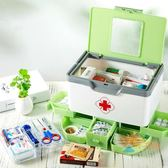 交換禮物-藥箱日式多層多格家用大號醫藥箱兒童家庭手提藥箱藥品收納急救箱