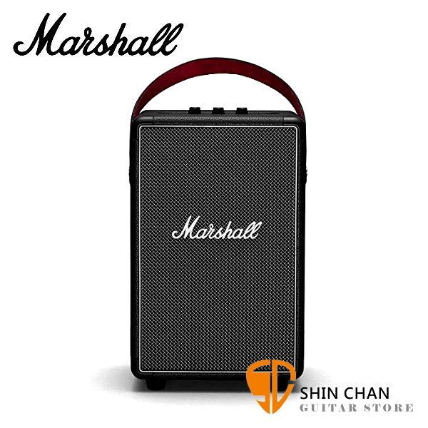 【缺貨】Marshall Tufton 攜帶式藍牙喇叭 經典黑 / IPX2防水 戶外可用 藍芽音響 台灣公司貨