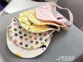 寶寶遮陽帽子夏天1-2歲男女兒童太陽帽防曬卡通鴨舌帽出游空頂帽 原本良品