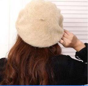 貝蕾帽(兔毛)