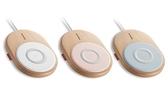 [富廉網] 【PROBOX】HA9-15W 北歐風 15W 無線充電板 白/粉紅/粉藍