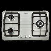 【歐雅系統家具】櫻花 SAKURA G-2830KS三口防乾燒節能檯面爐