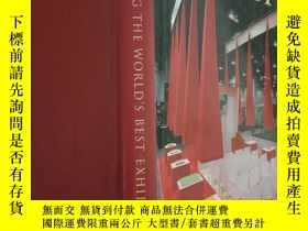 二手書博民逛書店DESIGNING罕見THE WORLD S BEST EXHI