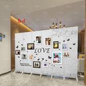 新歐式屏風隔斷牆客廳臥室現代簡約時尚折屏移動折疊雙面布藝玄關 xw 【快速出貨】