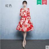 熊孩子♚新娘敬酒服2017新款夏季時尚短款紅色禮服(主圖款  紅色)