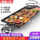 【菲仕德】無煙電烤盤不黏鍋 BSMI認證保固一年 台灣現貨 中秋節