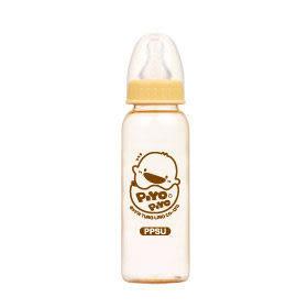 黃色小鴨 媽咪乳感PPSU防脹氣奶瓶-標準口徑 240ml
