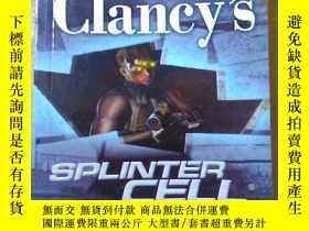 二手書博民逛書店【英文原版】Checkmate(Tom罕見Clancy's Splinter Cell)Y209760