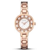 新品手錶女 輕奢簡約立體鑲鑽時尚女錶鋼帶石英手錶《小師妹》yw03