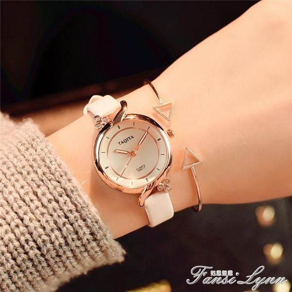 小清新手錶女學生韓版簡約 潮流ulzzang百搭女款裝飾休閒大氣復古 聖誕節全館免運