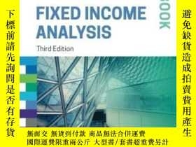二手書博民逛書店Fixed罕見Income Analysis Workbook (cfa Institute Investment