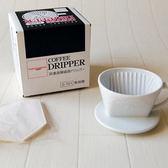 【日本三洋】有田燒改良式手沖單孔咖啡濾杯(1-2人)~田口護設計濾杯,三洋濾杯(白色)