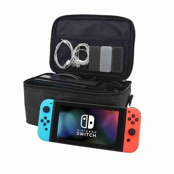 Switch 全套 收納包 遊戲機 NS 主機 卡夾 搖桿 手把 手提包 任天堂 動物森友會 『無名』 N02102