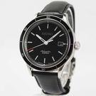 【萬年鐘錶】SEIKO Mechanical 精工6R15 23石 都會機械錶 透明底蓋 銀x黑41mm 6R15-02V0A (SARG017J)