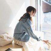 2018新款女裝春季外套韓版寬鬆港味牛仔外套女短款bf風百搭學生   夢曼森居家