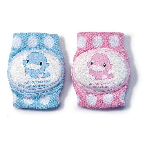 【奇買親子購物網】酷咕鴨KU.KU. 造型護膝(藍色/粉色)