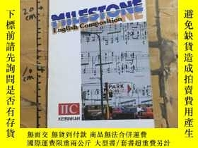 二手書博民逛書店MILESTONE罕見English Composition Ⅱ.ⅡCY252403 David sell K