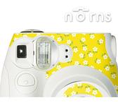 MINI7S 專用FUJIFILM日本富士原廠拍立得相機機身貼紙【White Yellow款】Norns