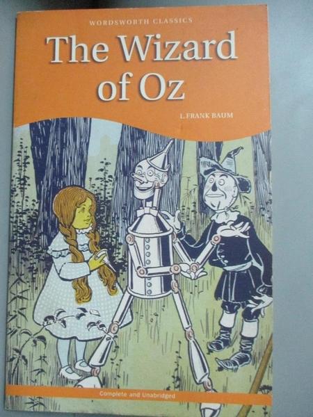【書寶二手書T5/少年童書_C58】Wizard of Oz (綠野仙縱)_Baum