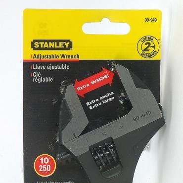 Stanley Maxsteel 10吋鉻釩鋼大開口活動扳手