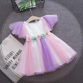 618好康鉅惠嬰兒6女寶寶純棉連身裙8夏裝公主裙子