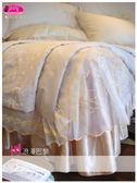 法式典藏˙浪漫臻愛系列『浪漫巴黎』香檳色*╮☆六件式專櫃高級床罩組5*6.2尺