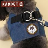 中型小型犬背心式牽引繩狗繩泰迪狗鍊子遛狗繩寵物胸背帶狗狗用品