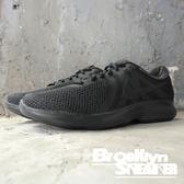 Nike Revolution 4  全黑 透氣 慢跑鞋 男 (布魯克林) 2018/7月 908988-002