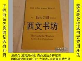 二手書博民逛書店【罕見】1938年 The Catholic Worker精裝Y