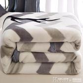 毛毯 珊瑚絨毯子冬季用加厚法蘭絨拉舍爾毛毯墊加絨床單人保暖雙層被子【韓國時尚週】