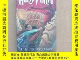 二手書博民逛書店Harry罕見potter and the chamber of Secrets 哈利波特與密室(英文原版 精裝)