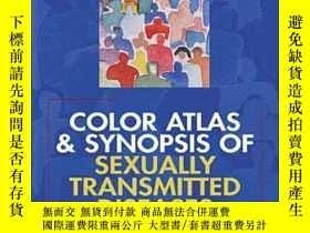 二手書博民逛書店Color罕見Atlas And Synopsis Of Sexually Transmitted Disease