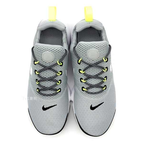 《7+1童鞋》NIKE PRESTO FLY (GS) 透氣 避震 輕量 襪套 魚骨鞋 運動鞋 慢跑鞋 F898 灰色