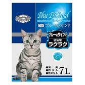【風格】變藍色環保紙貓砂-7L*3包組(G002N02-1)