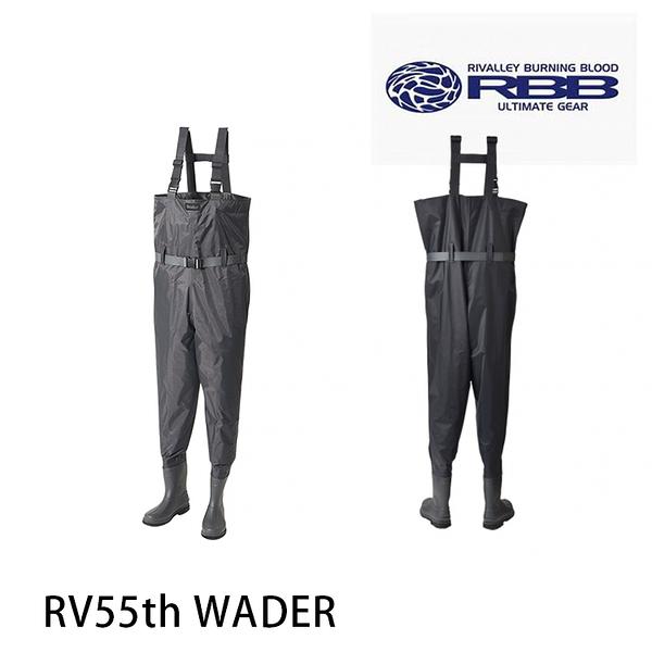 漁拓釣具 RIVALLEY 55th WADER [涉水褲]