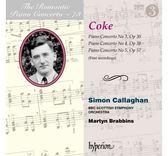 【停看聽音響唱片】【CD】浪漫鋼琴協奏曲第73集 科克:第3.4.5號鋼琴協奏曲