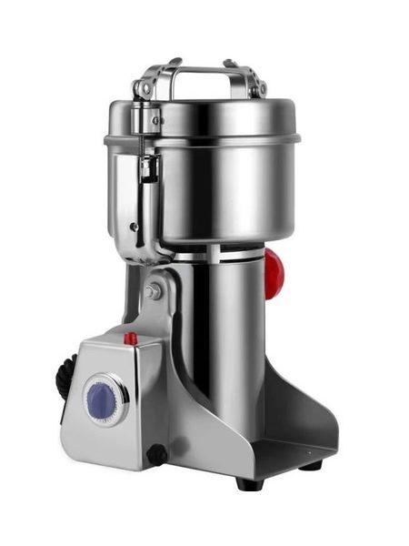麵粉攪拌機 中材粉碎機家用小型磨粉機電動乾磨機三七打粉機超細商用研磨機DF