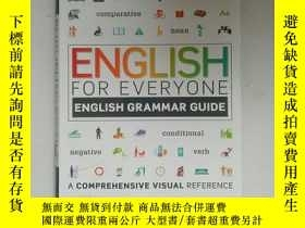 二手書博民逛書店English罕見for Everyone English Grammar Guide: A comprehens