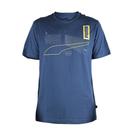 PUMA 基本系列反光短袖T恤 藍 58...