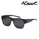 HAWK 新型薄框偏光太陽眼鏡套鏡(2用)HK1027-BL1