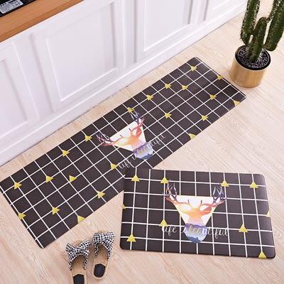 時尚創意地墊271 廚房浴室衛生間臥室床邊門廳 吸水長條防滑地毯(45*120cm)