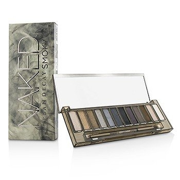 SW Urban Decay-20 眼影盤 Naked Smoky Eyeshadow Palette (12x Eyeshadow, 1x Doubled Ended Smoky Smudger/Tapered Crease Brush)