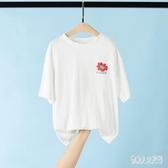 女童短袖t恤2020夏季寬鬆上衣潮牌衣服中大童裝寶寶半袖兒童夏裝 TR1429『俏美人大尺碼』