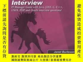 二手書博民逛書店Conducting罕見The Programmer Job Interview: The It Manager