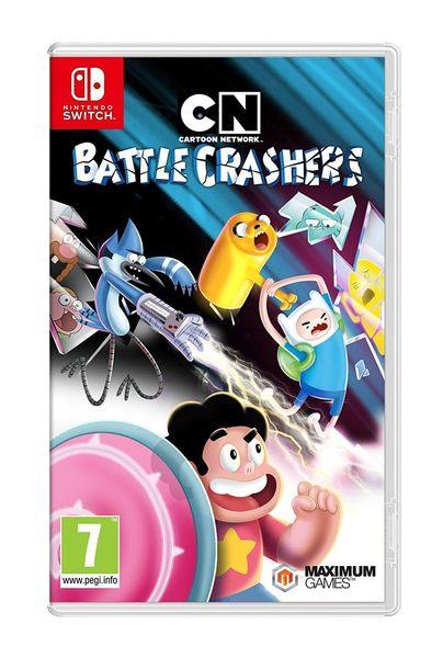 NS 卡通頻道大亂鬥 -英文版- Switch Cartoon Network Battle Crashers 戰鬥破壞者