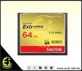 ES數位 SanDisk Extreme CF 800x 120MB/s 120M 64G 64GB 記憶卡 群光公司貨 終身保固