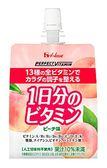 【日本】水蜜桃風味凍飲180g ★知名大廠-HOUSE ★不添加人工甜味劑 ★香甜桃子風味,給您滿滿元氣